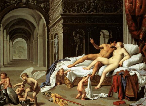 erotismo en la mitología